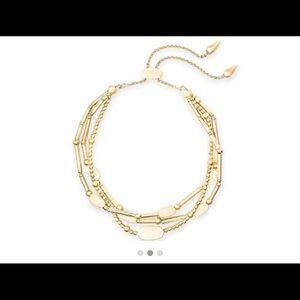 Brand New Kendra Scott Chantal Bracelet in gold